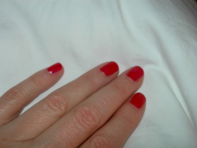 O'Brien, Claire Red Nails